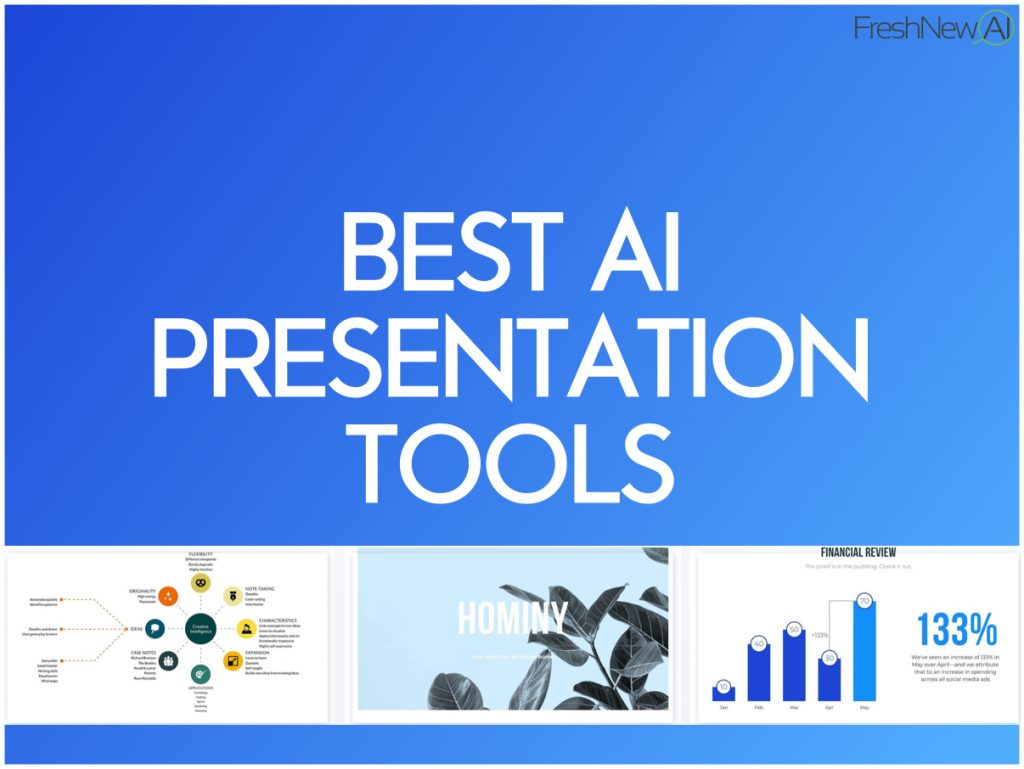 Best AI Presentation Tools and software