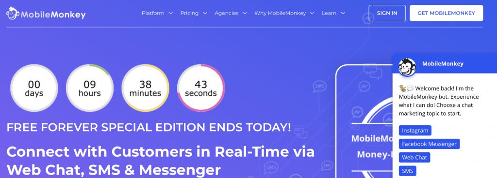mobilemonkey ai chatbot