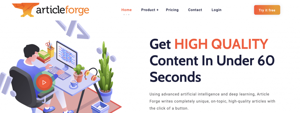 article forge ai content creator