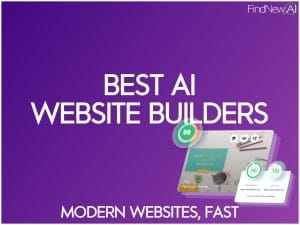 best ai website builders for modern sites