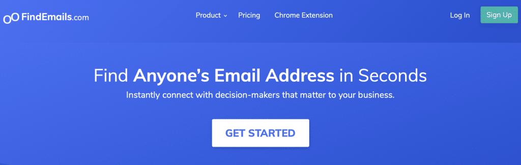 findemails best web scraper tool