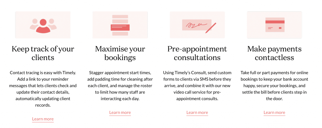timely ai booking tool