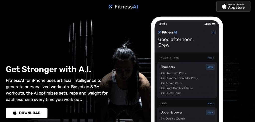 fitnessai app