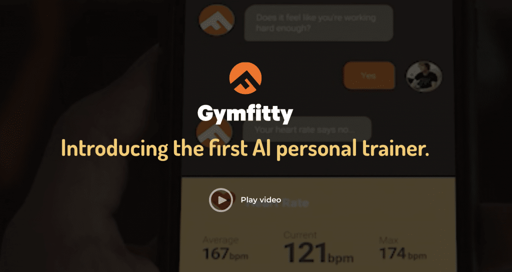 gymfitty ai personal trainer