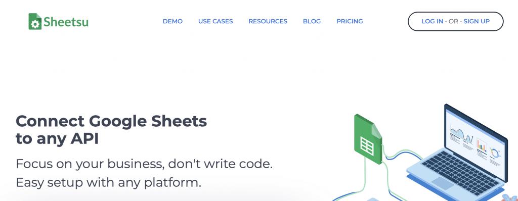 sheetsu google sheets tool