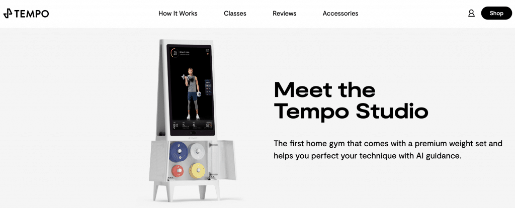 tempo ai fitness home gym