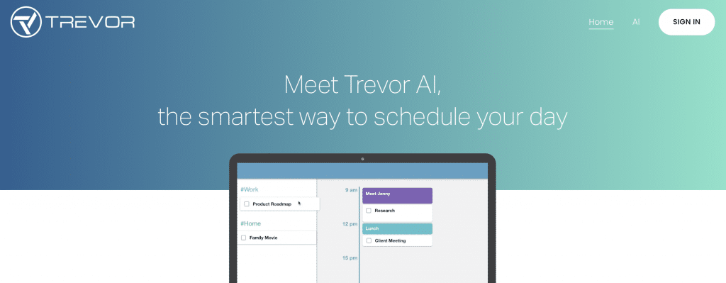 trevor ai team software schedule tool
