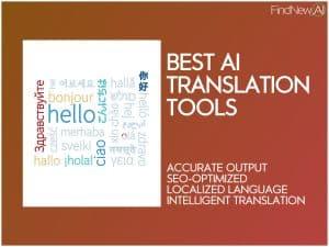 best ai translation tools