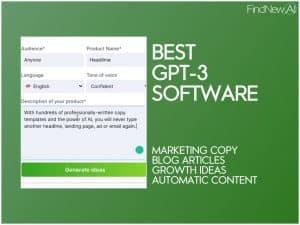 best gpt-3 demo examples software