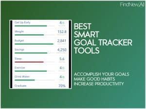 best smart goaler tracker tools