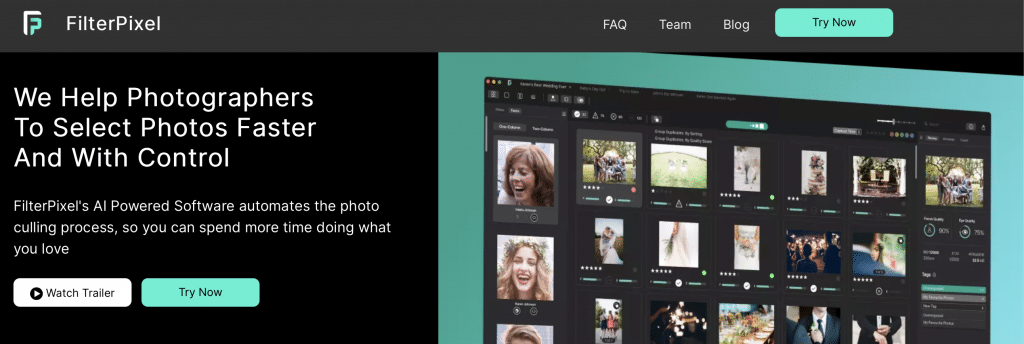 filterpixel ai photo editor