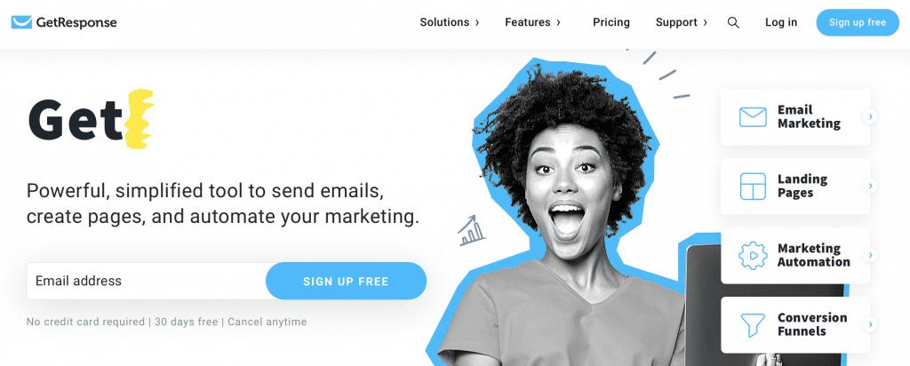 getresponse ai email tool
