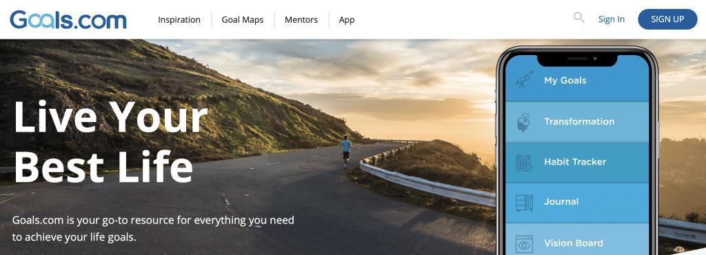 goals goal tracking app