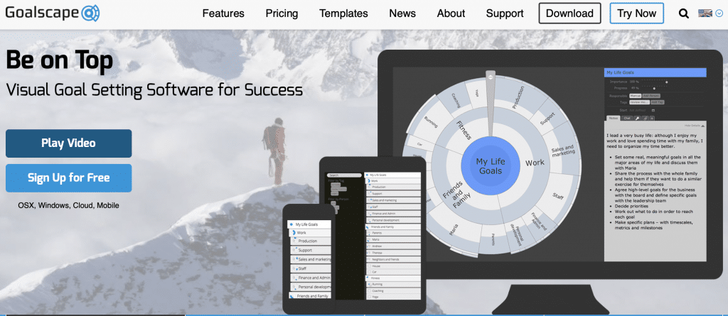 goalscape goal setting software