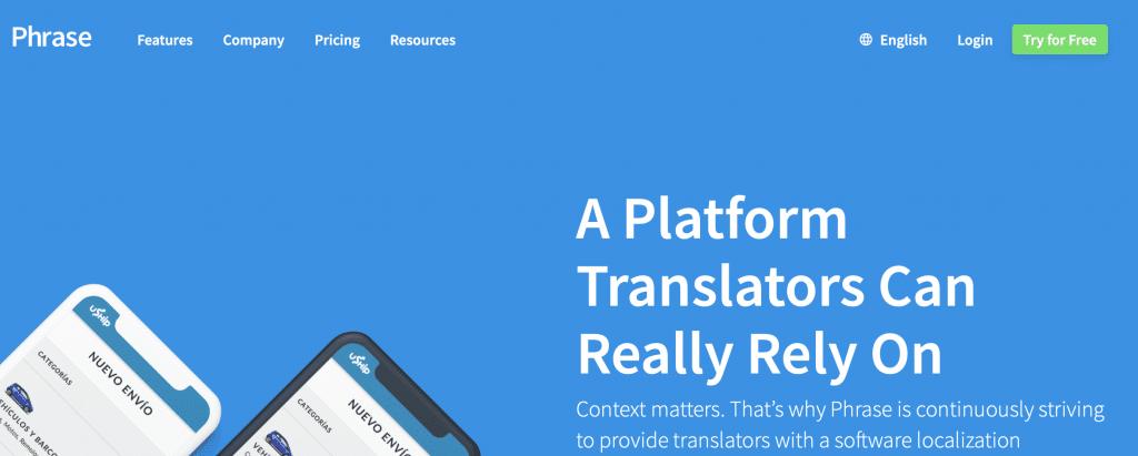 phrase best ai translation tool