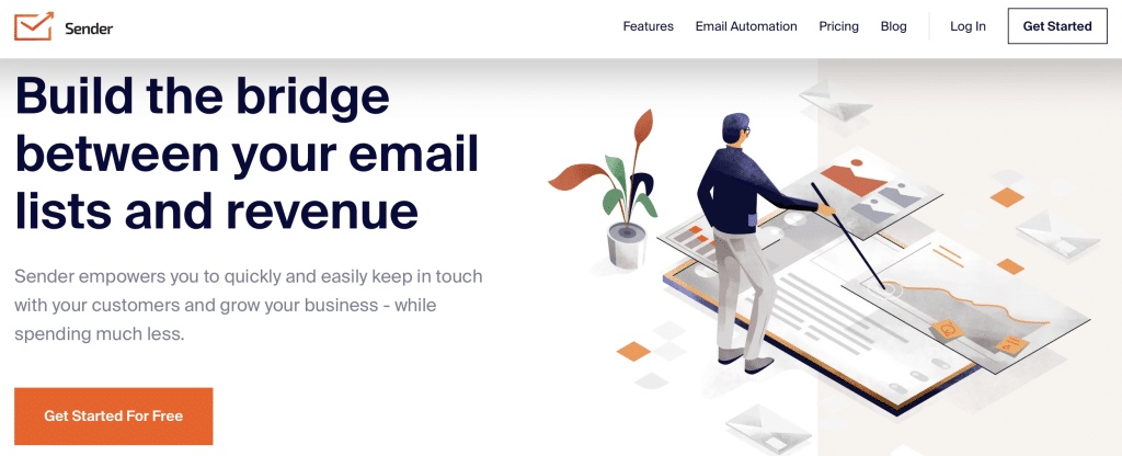 sender ai email software