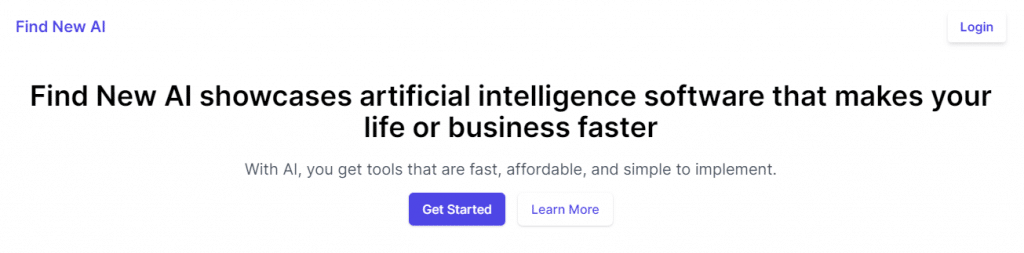 snazzy ai product header and description