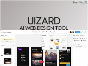 uizard review ai app creator web design