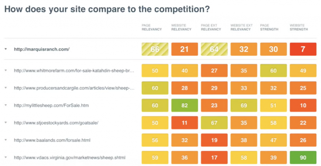 canirank review competitor analysis features