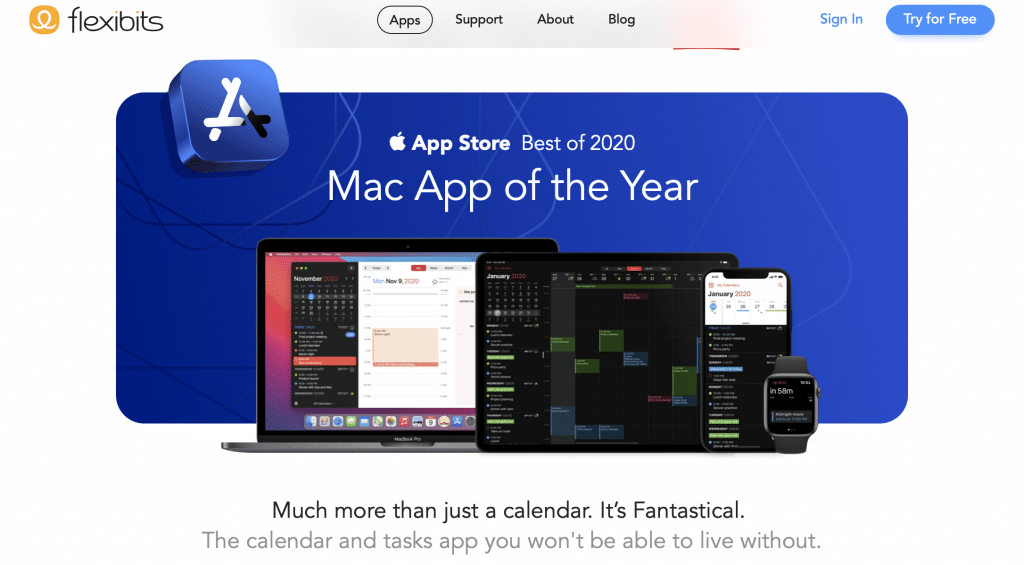 fantastical ai calendar software