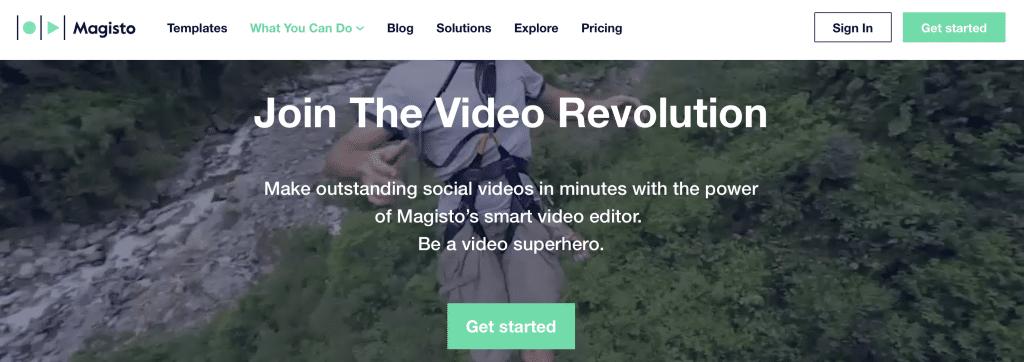 magisto ai video editor