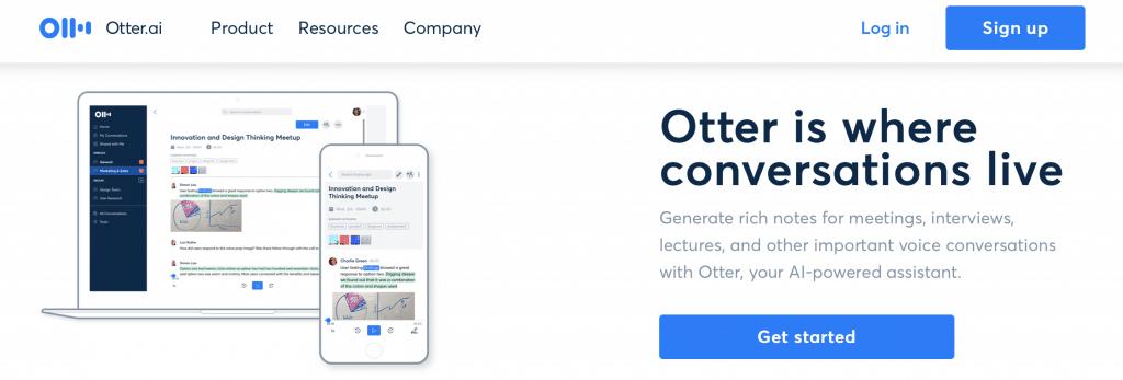otter ai transcription software