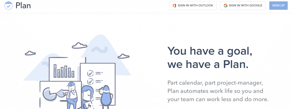 plan ai calendar software