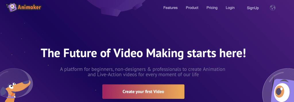 animaker ai animation software