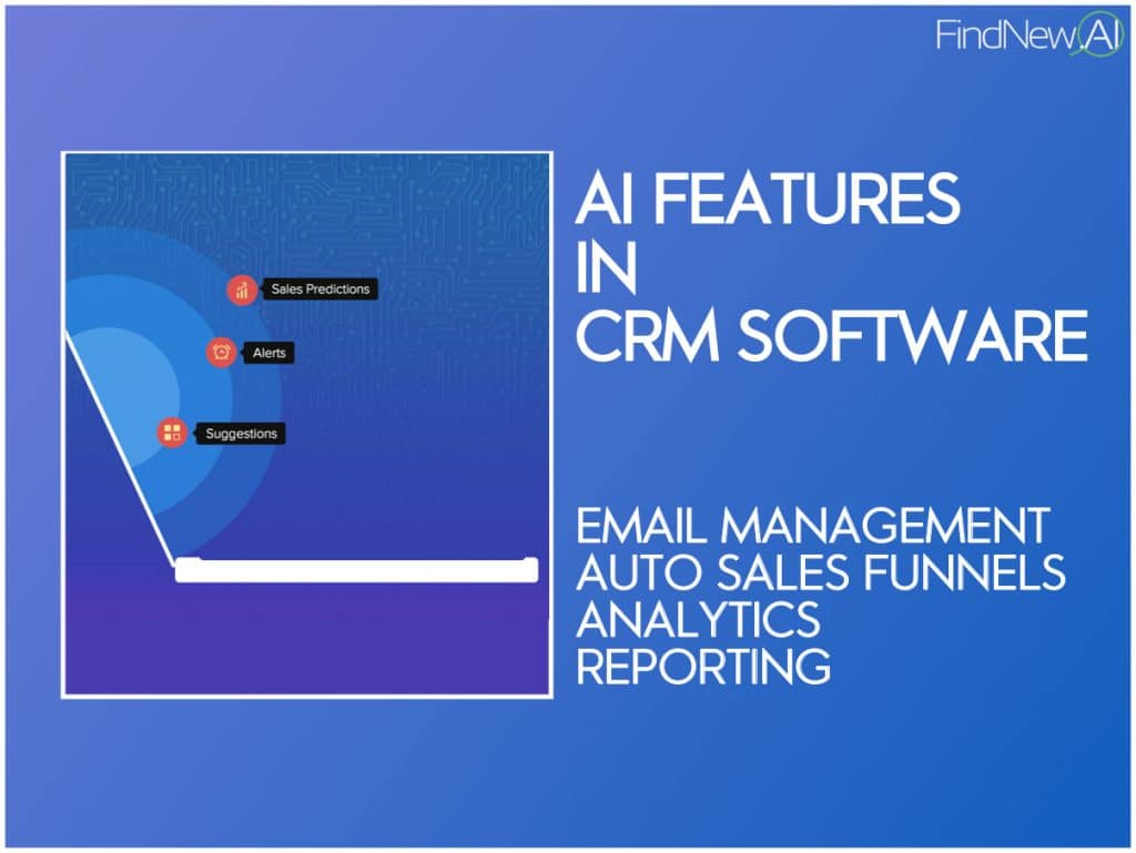 best crm features with ai