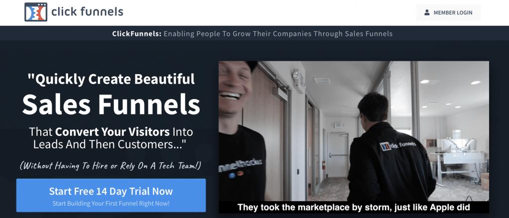 click funnels ai ab testing