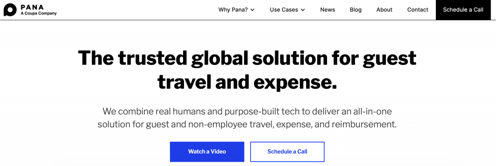 pana ai travel solution