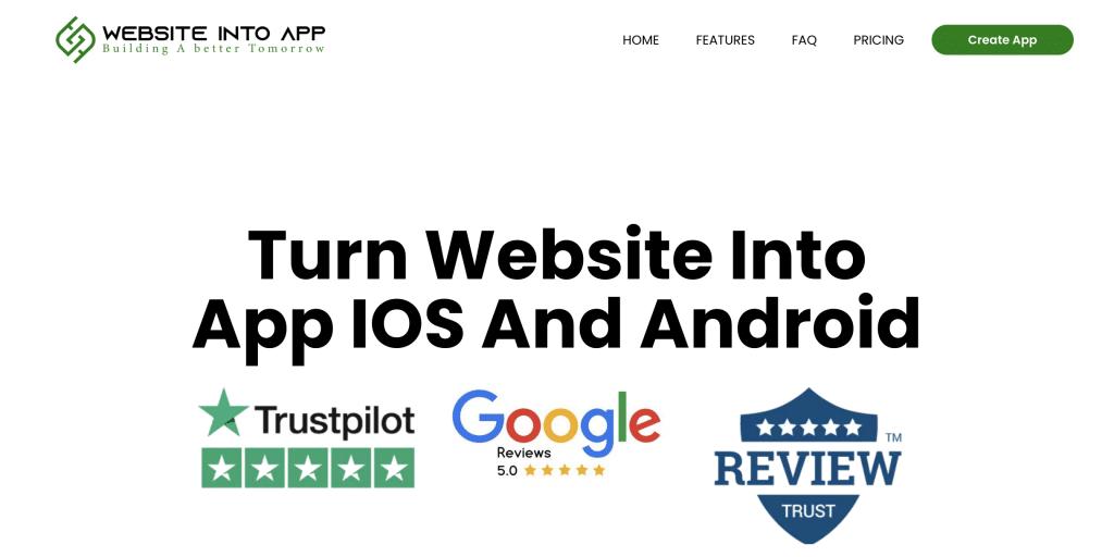 website into app review