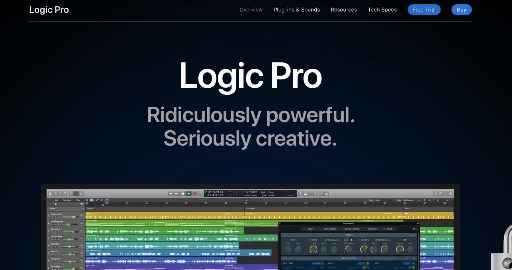 logic pro best daw