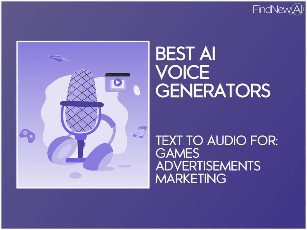 best ai voice generators