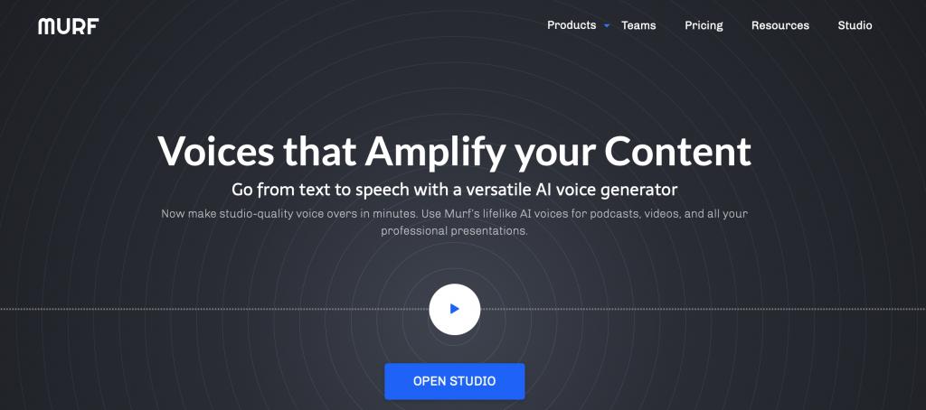 murf ai voice generator